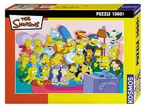 KOSMOS 782108 - Die Simpsons Fernsehen fr alle 1000 Teile