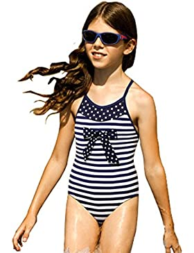 Kids Mädchen Kinder Badeanzug Bademode Badeanzug Beachwear ONE PIECE dunkelblau BNWT