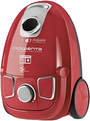 Rowenta RO5253EA Compacteo Ergo, aspirapolvere a traino con sacco da 3 l e 750 W