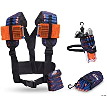 Nerf Elite Multi Mobile Gear Pack-Holster-Sac à Recharge-Gilet Utilitaire, 11522