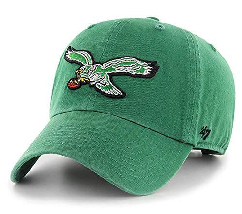 Baseballmütze mit klassischem Logo 47 Philadelphia Eagles, NFL Green Clean Up, verstellbar, OSFM -