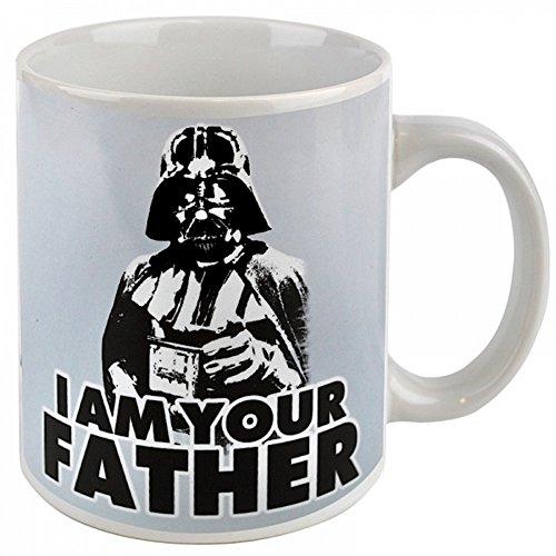 Preisvergleich Produktbild Star Wars - Keramik Tasse - Darth Vader - I Am Your Father - toll und stabil verpackt in einer Geschenkbox!