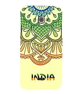 India is Great 3D Hard Polycarbonate Designer Back Case Cover for InFocus M350