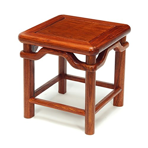 Antike Massivholz (TANG CHAO Hocker Kleine Hocker Hocker Hocker Ming Style Antiken Hocker Massivholz Hocker Kreative Zu Tragen Schuhe Hocker (30 * 30 * 31 cm) Stühle)