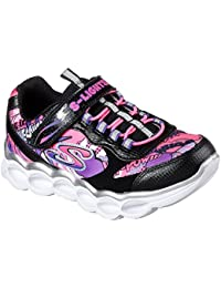 Skechers S Lights Lumi Luxe Girl Trainers LED Shoes Sneaker Girls