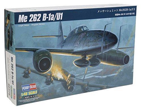Hobbyboss 80379 - Modelo del Motor de Messerschmitt Me 262 B-1a / U1, para Construir, a Escala 1:48