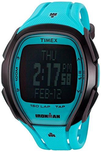 Timex Full-Size Ironman Sleek 150 TapScreen Uhr Unisex neonblau -