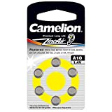 Camelion 15006010 Zink Luft Knopfzellen A10/ZL 10 (1,4...
