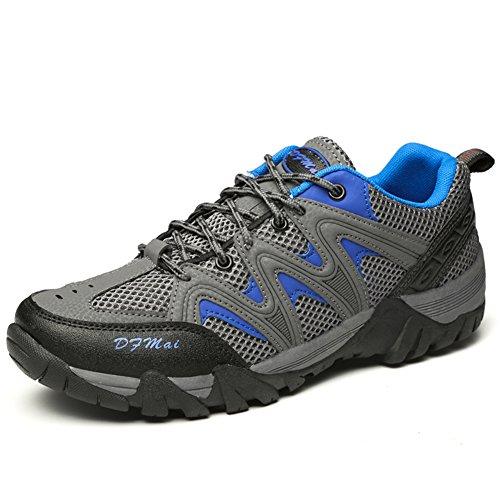 JEDVOO Uomo Scarpe da Trekking Scarpe da Escursionismo Sportive Sports  Running Basket Sneakers all aperto 2d6b1e8abc7