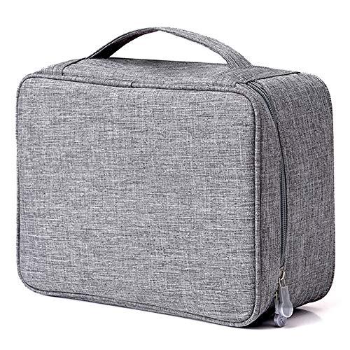 rganisator Reiseveranstalter Aufbewahrungstasche, Doppelschicht tragbare elektronische Zubehör Shuttle Fall wasserdicht Gadget Organizer Bag ()