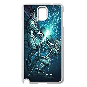 Samsung Galaxy Note 3 Cell Phone Case White_Thor Battle Soqrq