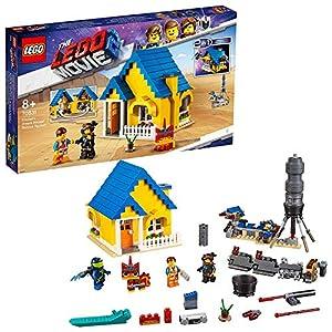 LEGO La LEGO Película 2 - Casa de los Sueños/Cohete de Rescate de Emmet, juguete creativo de construcción 2 en 1 con personajes de la película (70831)