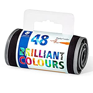 Staedtler Triplus Color 323 M50JB. Rotuladores de colores. Estuche con 50 marcadores. Edición Johanna Basford.