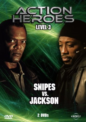 Bild von Action Heroes - Level 3: Snipes vs. Jackson [2 DVDs]
