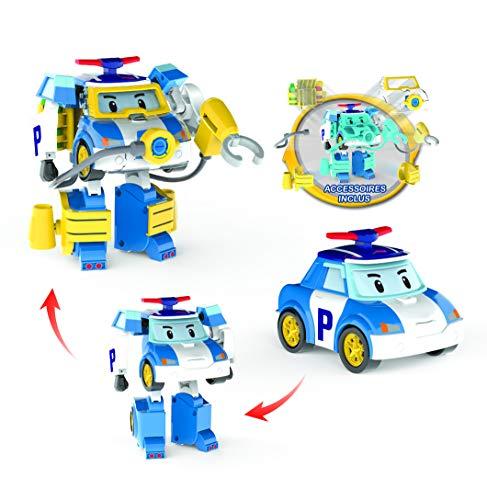 Plongeur Cm Robocar 10 Figurine Poli Transformable 5LR4Aj