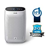 Philips AC1215/20 Air purifier, removes 99.97% airborne pollutants with 4-stage filtration