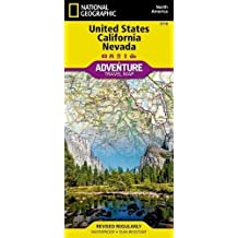 National Geographic United States California and Nevada: North America