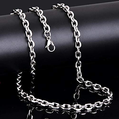 Oidea 1 Paar(2PCS) Freundschaftsketten mit Anhänger, Krone Ring Edelstahl Partner-Anhänger mit 45cm und 55cm Kette, Halskette Halsband für Damen Herren (Krone Ring Anhänger)