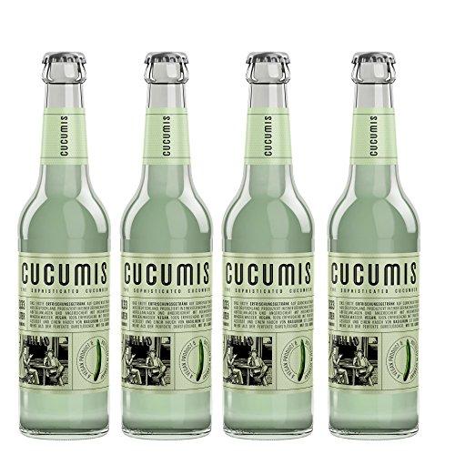 Cucumis - Gurkenlimonade 4er - 4 x 0,33l inkl. Pfand 0,32€ MEHRWEG Pfand