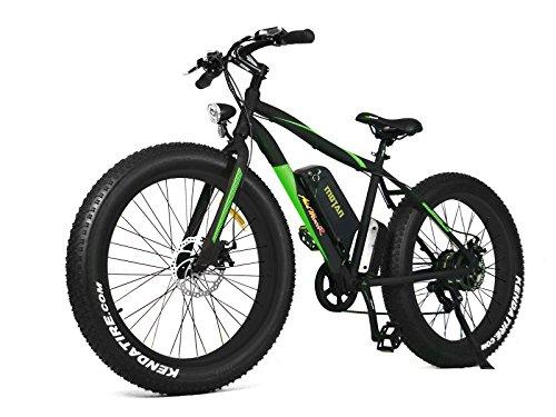 Addmotor MOTAN Nueva Bicicleta Eléctrica Actualizada M-550 48V 500W Bafang Motor 10.4AH Samsung Batería de Litio Mountaña Bicicleta Electrica con Shimano 7 velocidades de neumáticos gruesos de la horquilla de suspensión