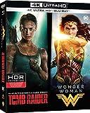 Coffret héroïnes 2 films : tomb raider ; wonder woman 4k ultra hd [Blu-ray] [FR Import]