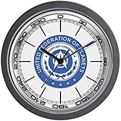 47BuyZHJX Horloge Murale Ronde Motif Star Trek