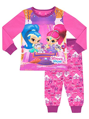 Shimmer & Shine Girls Shimmer and Shine Pyjamas Ages 2 to 7 Years