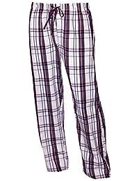 Schlafanzughose Damen lang Schlafhose Pyjamahose lang Damen Lange Pyjamahose aus 100% Baumwolle Model MoonLine, 1 Stück