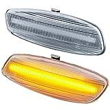 rm-style LED SEITENBLINKER Modell KLARGLAS [7608]