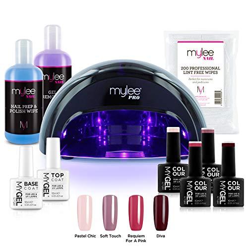 Kit Profesional LED Mylee para barniz de uñas