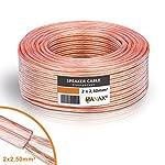 Cable para altavoz (2 x 2,5 mm...