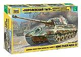 Zvezda Rey Tiger Ausf. B (Henschel Torreta) Alemán de Tanques Pesados - 1/35 Escala Kit Modelo