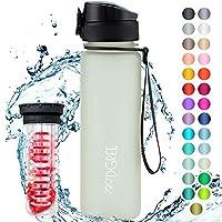 """720°DGREE Trinkflasche """"uberBottle"""" mit Früchtebehälter - 500ml - Auslaufsichere Wasserflasche aus Tritan für Kinder &..."""