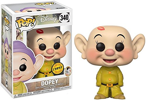 Snow White and the Seven Dwarfs Dopey Pop! Variant Vinyl Figure Chase and (Included with Pop BOX PROTECTOR CASE)