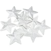 Kesheng 10pcs Parche de Lentejuelas en Forma Estrella Diámetro 9cm para Decoración de Ropa