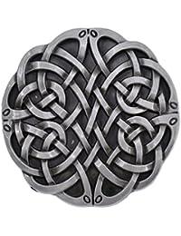 b345cf941e05 Hongma Boucle de Ceinture Style Celtique Accessoire Ceinture Métal Unisexe  Homme Femme