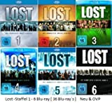 Lost - Staffel 1 - 6 [ 36 Blu-ray´s ]