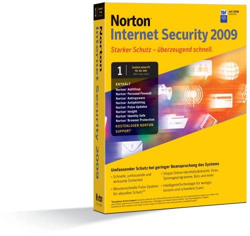 Norton Internet Security 2009 1 PC