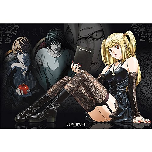ABYstyle ABYDCO270 - Poster Death Note, Mise, L und Light