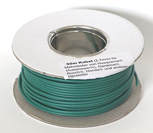 genisys Begrenzungskabel Draht Kabel 50m McCulloch Rob R600 R1000 Mc Culloch Ø2,7mm