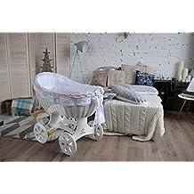 ComfortBaby ® XL Baby Stubenwagen - komplette 'all inclusive' Ausstattung - Zertifiziert & Sicher