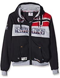 GEOGRAPHICAL NORWAY Homme Designer Hoodie Blouson - FLYER -