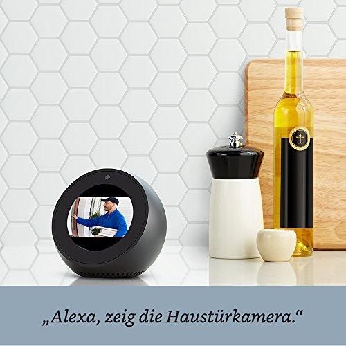 Wir stellen vor: Amazon Echo Spot - Schwarz - 5