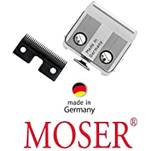 Fina - juego de terrajas de roscar para esquiladora Moser 1233 + 1234 + Rex 1233, y elección Flexicut. Protector de pantalla en Alemania! Original Moser!