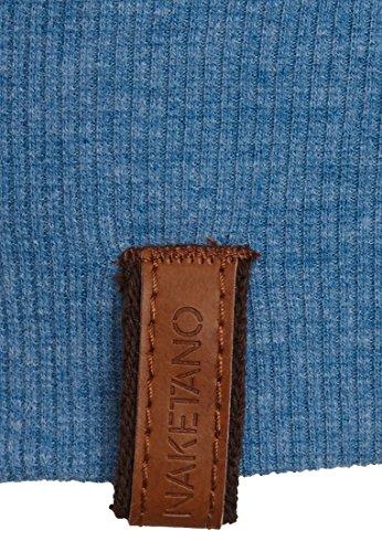 Naketano Female Shortsleeve Wolle X Light Blue Melange