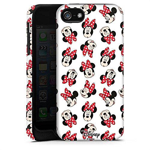 Apple iPhone 7 Plus Silikon Hülle Case Schutzhülle Disney Minnie Mouse Fanartikel Geschenk Tough Case matt