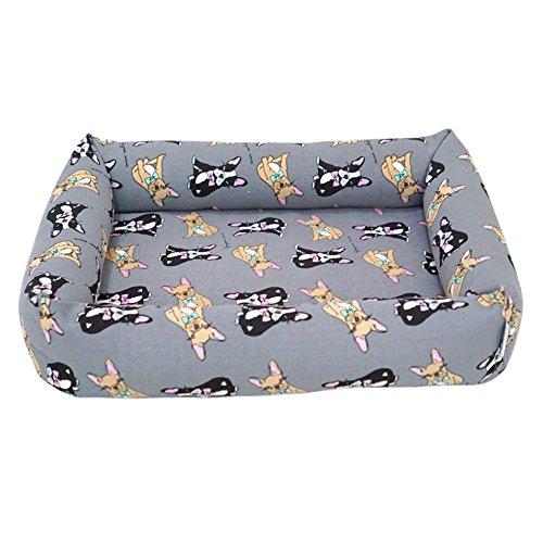 Laamei letto per cani e gatti cuscino di raffreddamento, resistente all'acqua, cuccia divano, cuscino, lettino per animali domestici