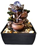 Zimmerbrunnen Feng Shui in Polyresin mit