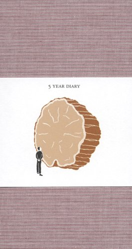 5-year-diary-red-cover