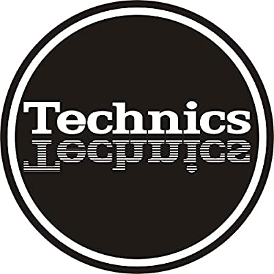 Technics 60647 Mirror Logo Design Slipmat
